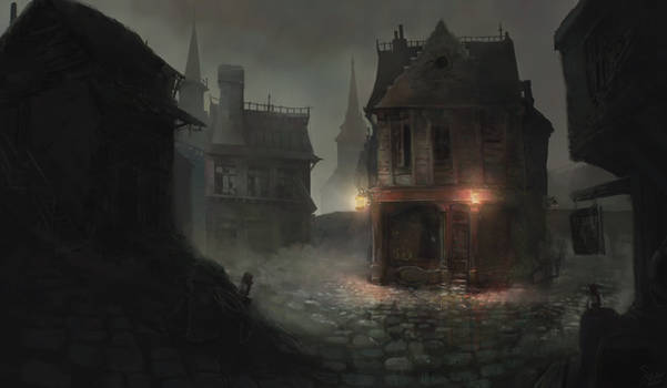 The streets of Innsmouth