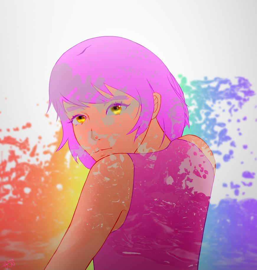 A Splash Of Color (Remastered) by RinKLen