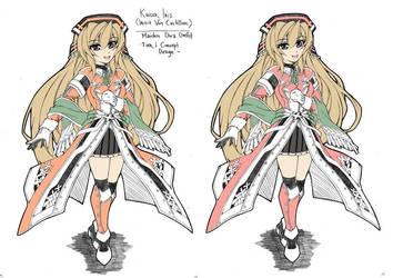 Kaiser Iris - Solaris And Cheery Blossom Version by lordsyafiqnaz