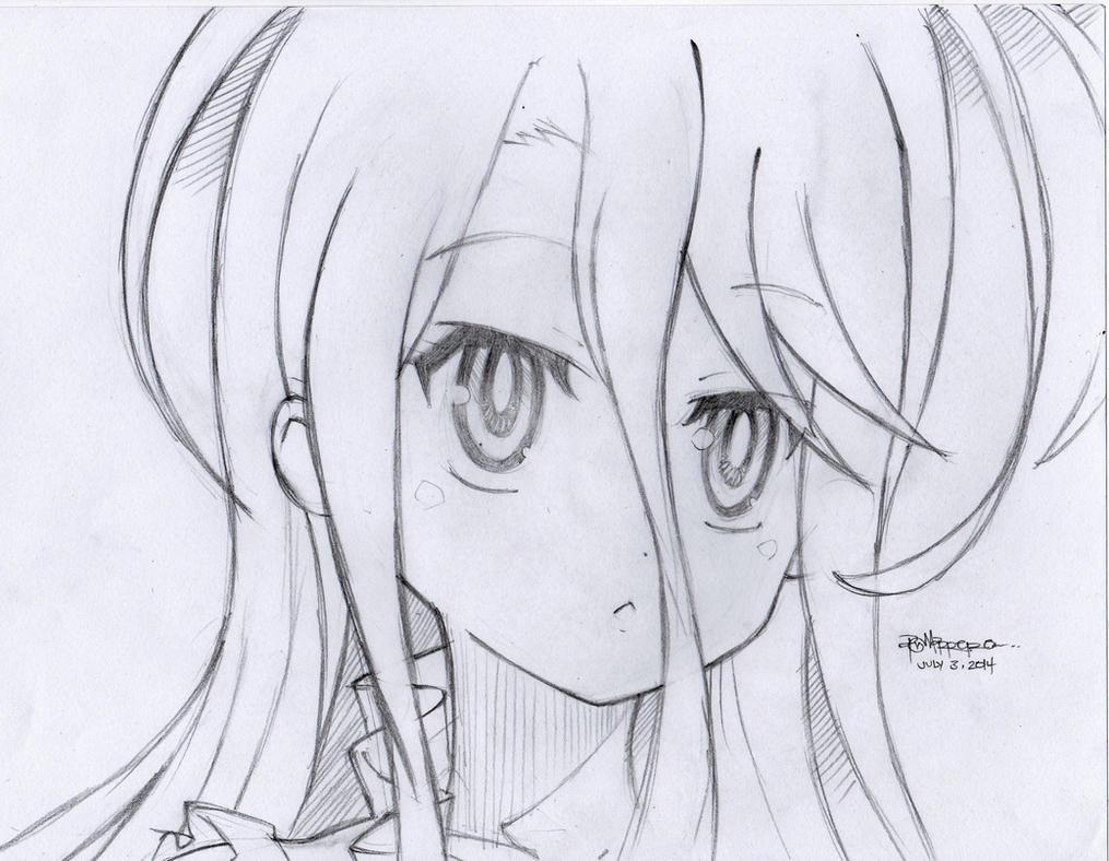 Shiro [No Game No Life] By Marrero95ph On DeviantArt