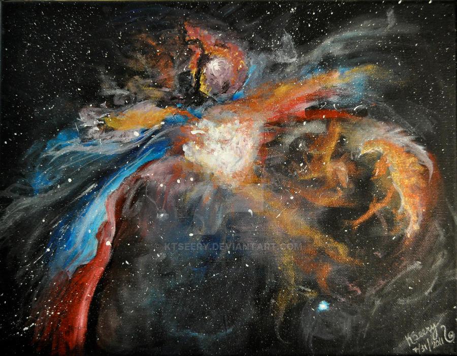 The Orion Nebula by KtSeery