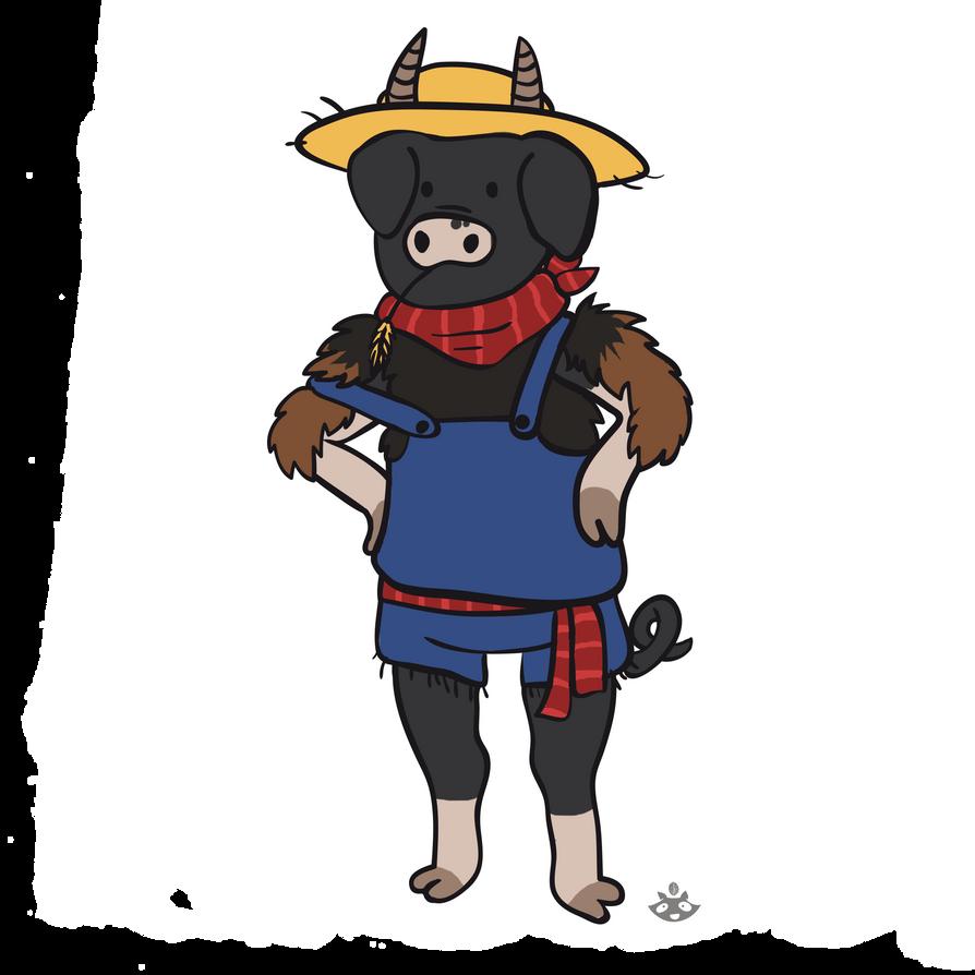Pigoat farmer by nuttycoon