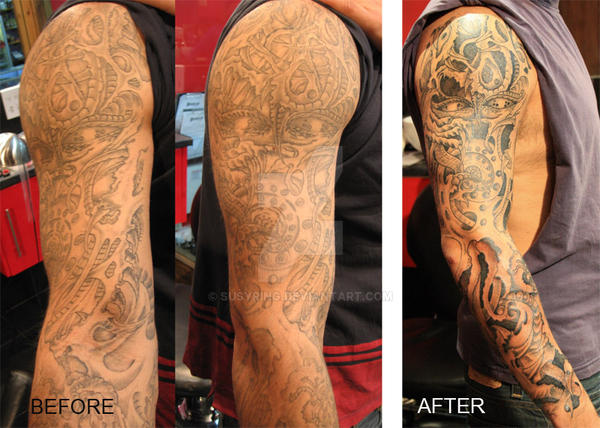 Arm Tattoo Redone By Susy Ring By Susyring On Deviantart