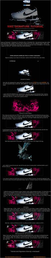 'Nike' Signature Tutorial