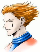 Hisoka - hunterXhunter - Color by HalfLife2007