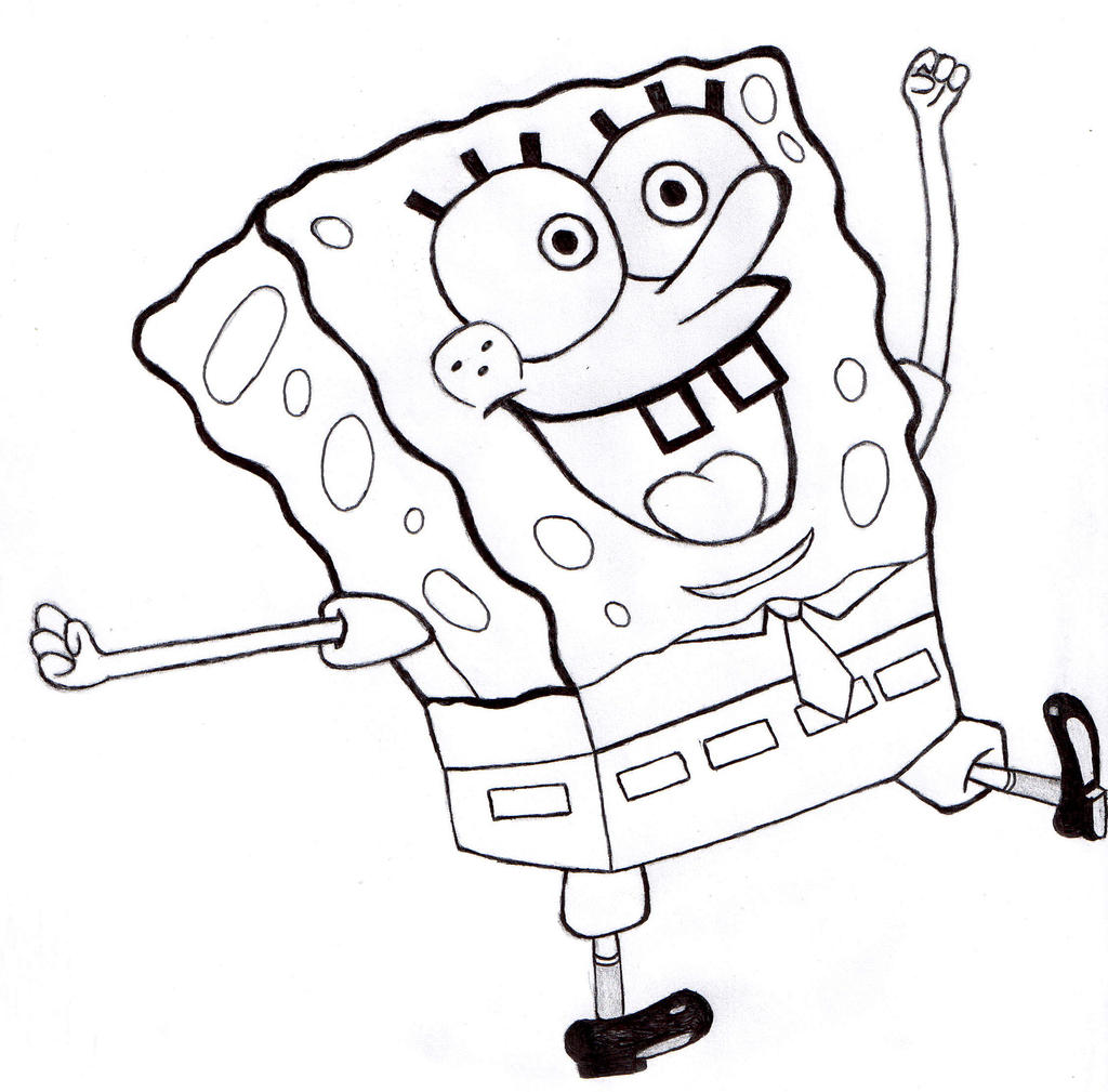 spongebob squarepants by halflife2007 on deviantart