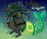 [CS] ICC Halloween Advent   Swamp Monster