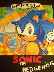 Sonic The Hedgehog by CinderVL