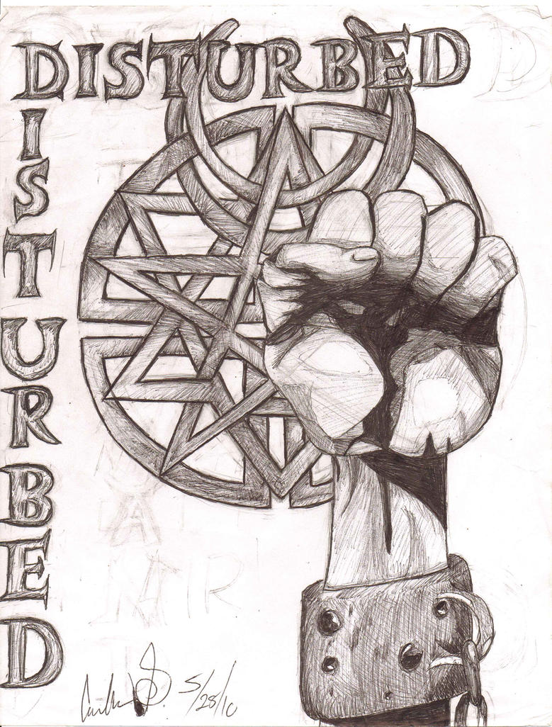 Disturbed Logos :3 by CinderVL on deviantART