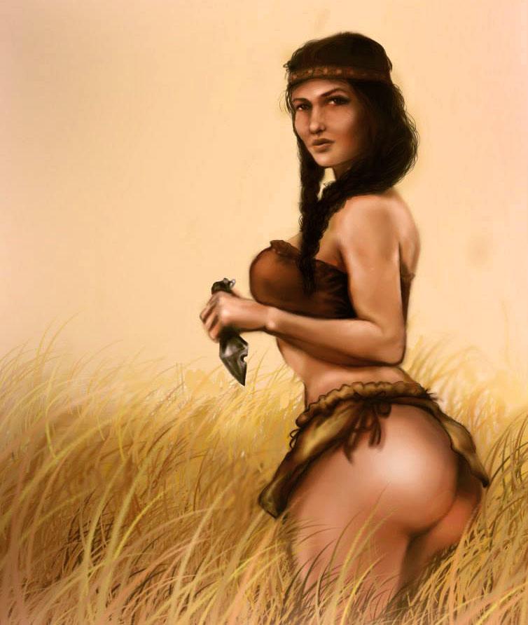 Brunette native americans get nude emo girl