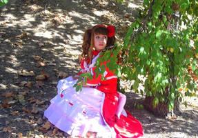 Lizzy Middleford (Kuroshitsuji) cosplay