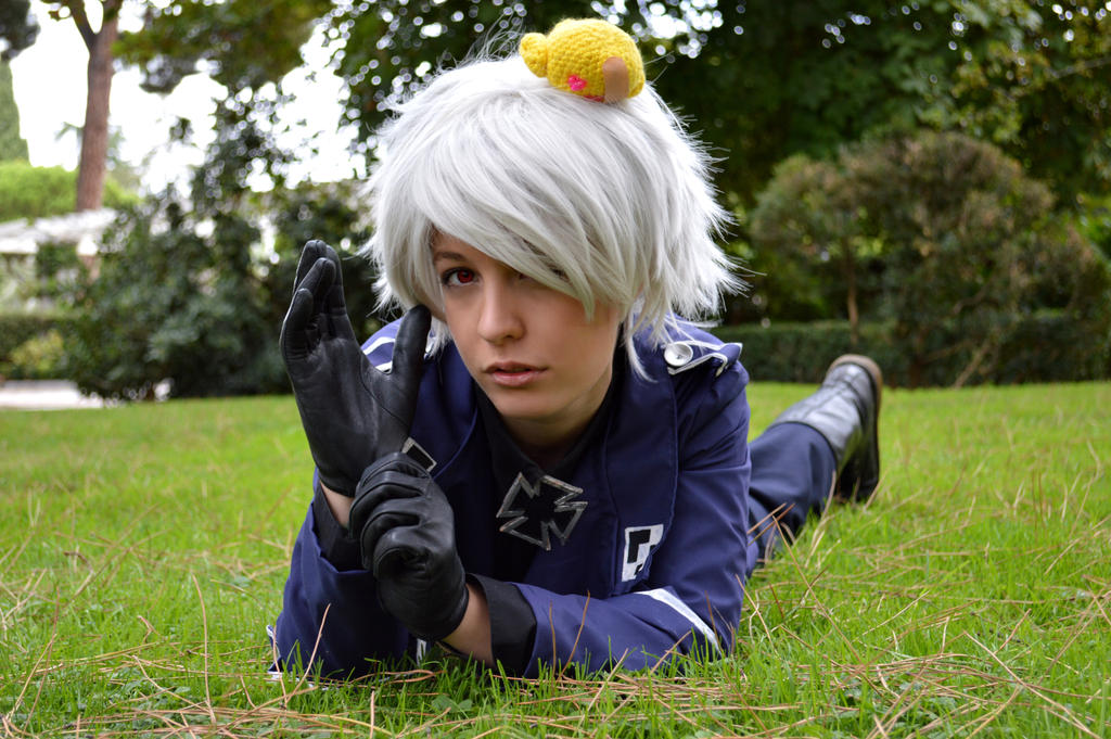 I will give you medicine- Prussia cosplay by Voldiesama