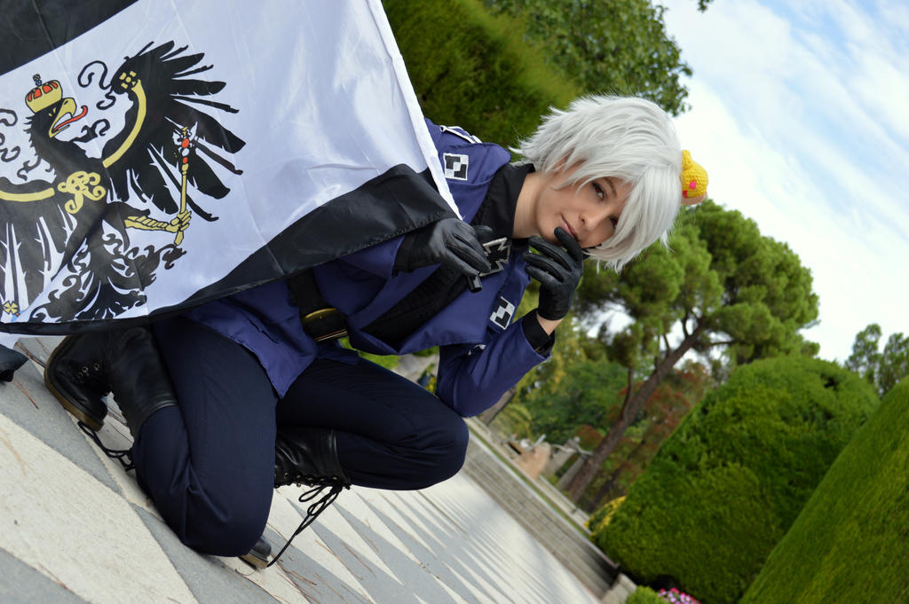 Awesomeness-Prussia cosplay by Voldiesama