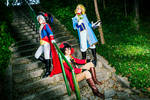 They are coming... - Bad Touch Trio cosplay