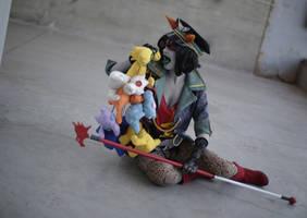 YOU SM3LL V3RY N1C3 - Terezi Militarystuck cosplay