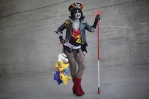 Pyrope pride - Militarystuck Terezi cosplay by Voldiesama