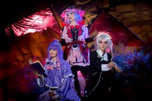 Scarlet devil mansion - Touhou cosplay