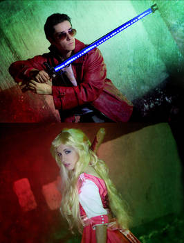 It's kill or be killed - No more heroes cosplay