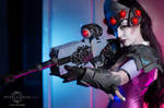 Step into my parlor - Widowmaker cosplay
