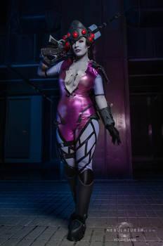One shot, one kill - widowmaker cosplay