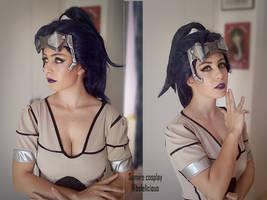Widowmaker Talon makeup test