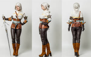 Ciri-The witcher 3 cosplay by Voldiesama