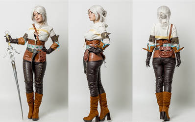 Ciri-The witcher 3 cosplay