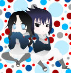 Sasuke and Kitsuri Chibi