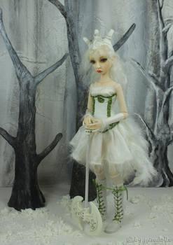 Cerridwen in the forest