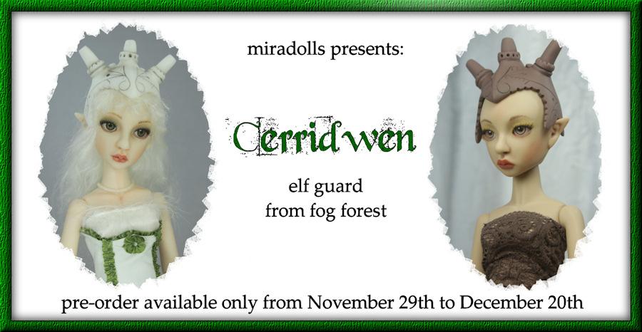 Cerridwen pre-order by miradolls