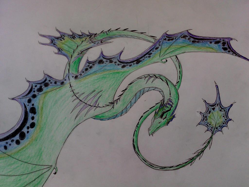 serpent dragon by Ferania