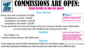 Commissions Pricing - Details
