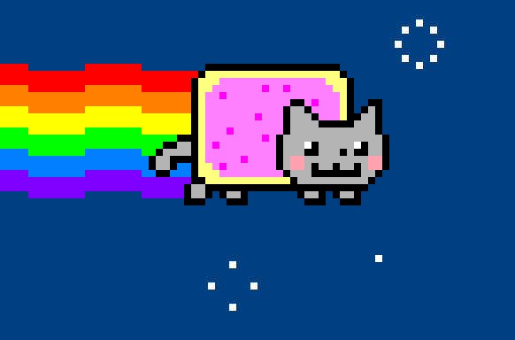 How To Draw A Nyan Cat