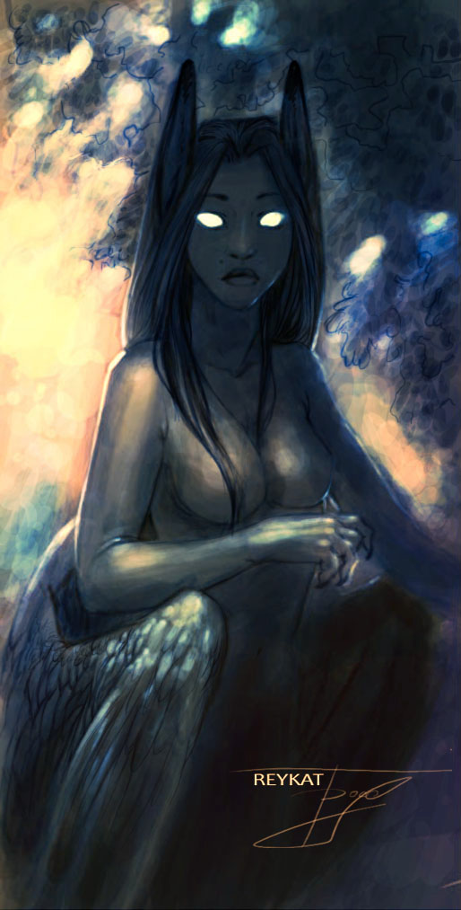 Blue vision by REYKAT