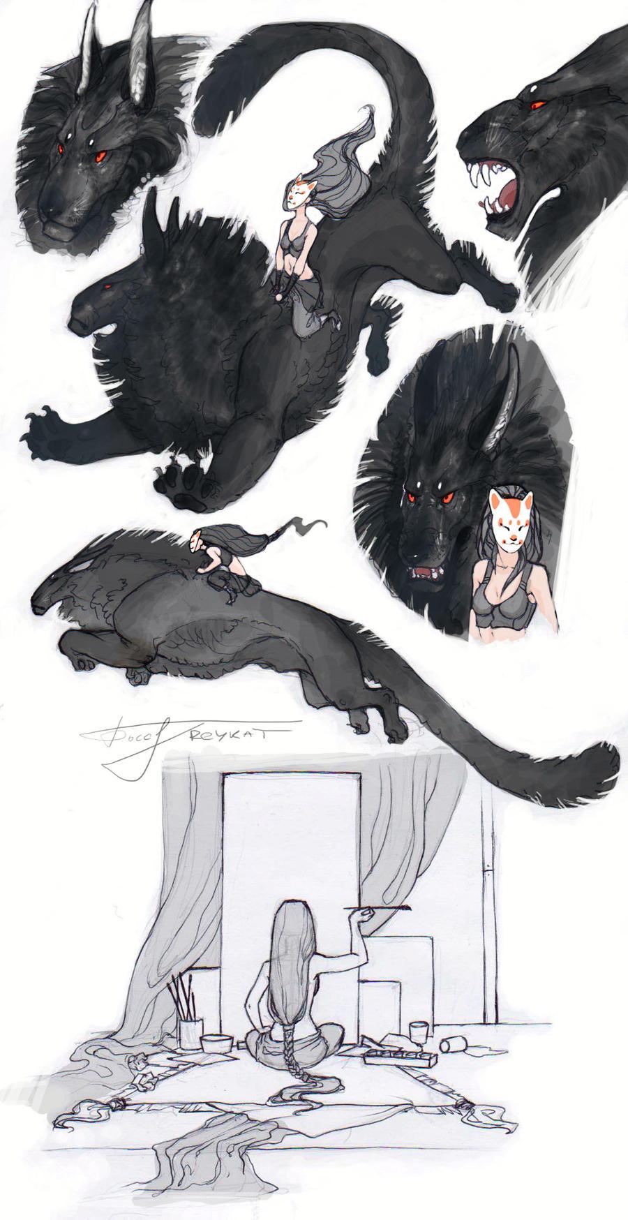SketchBlackBeast by REYKAT
