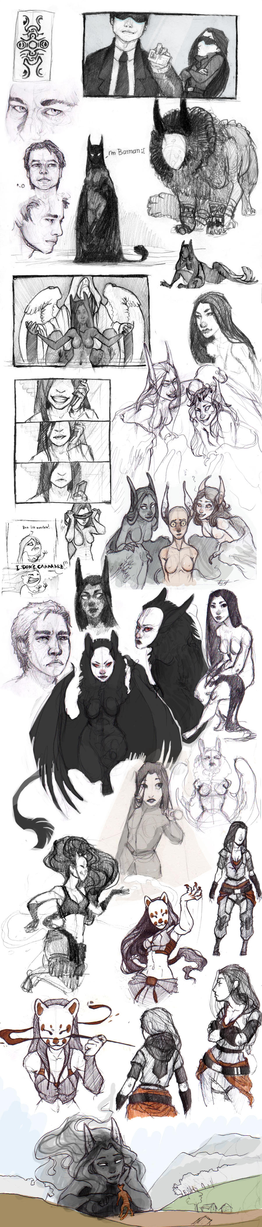 SketchStuff by REYKAT