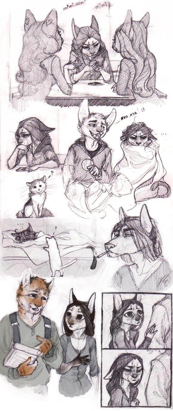 SketchStuff3 by REYKAT