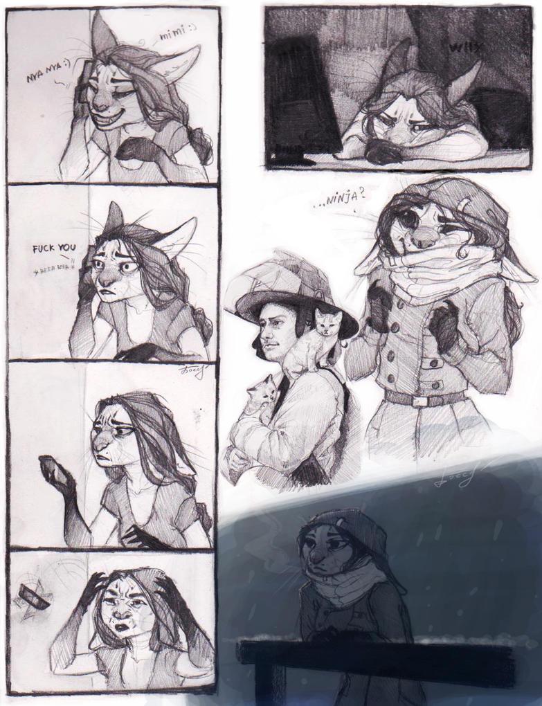 SketchStuff4 by REYKAT