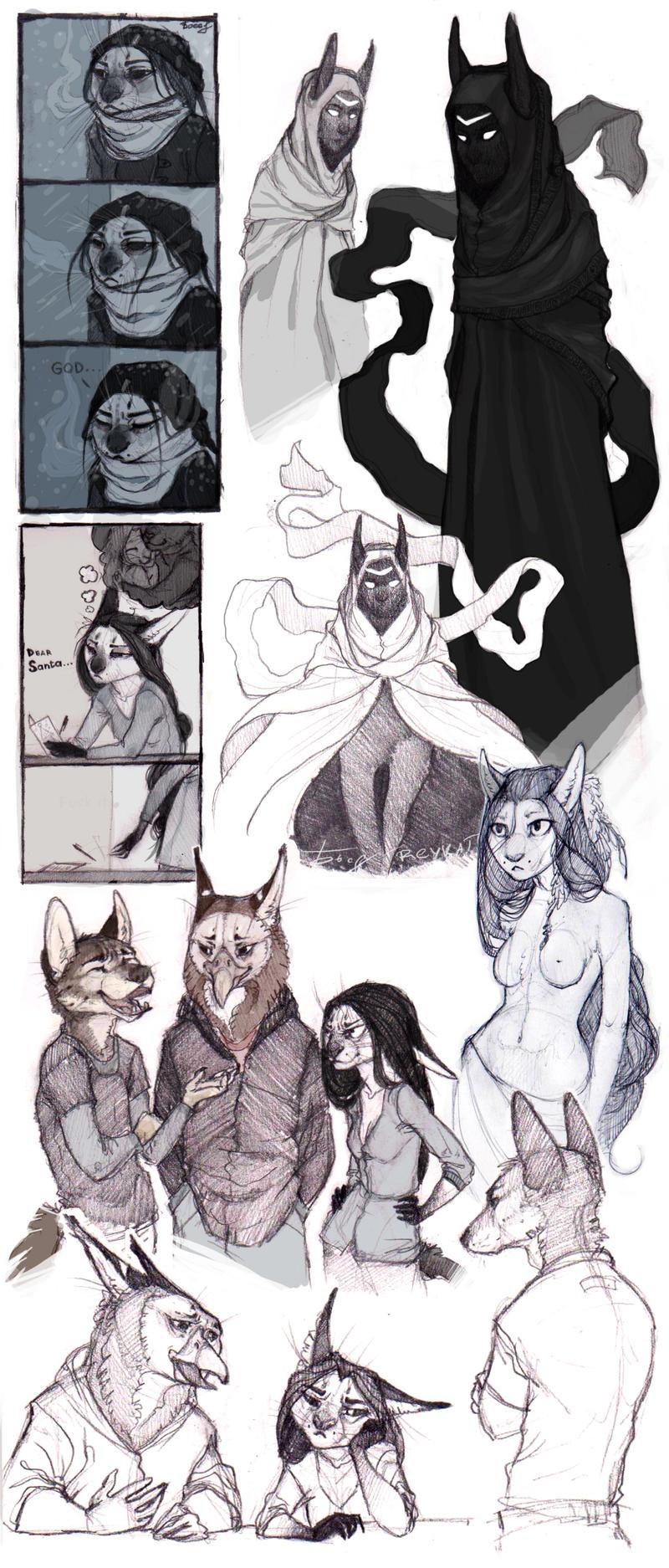 SketchStuff5 by REYKAT