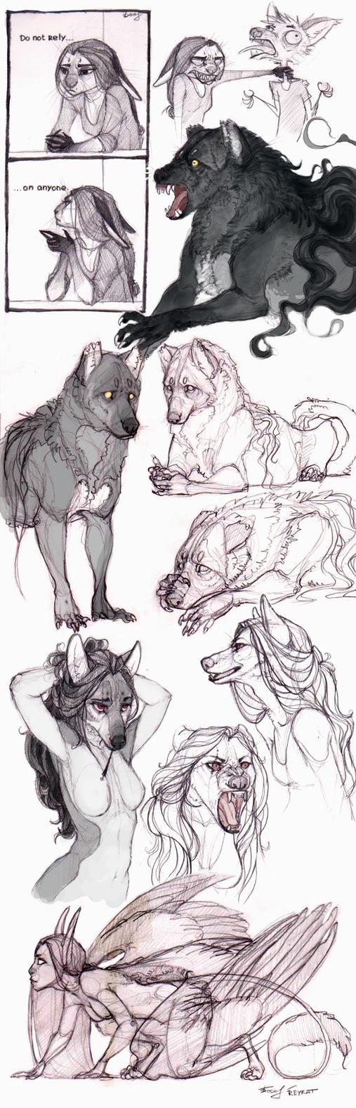 SketchStuff6 by REYKAT