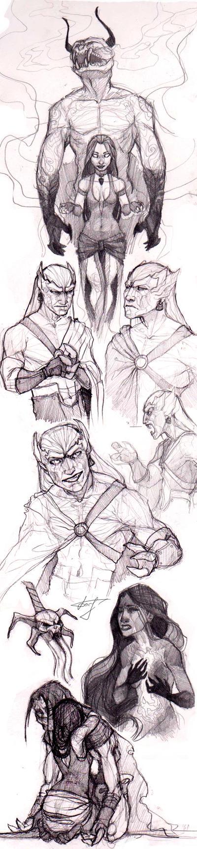 SketchStuff SoulReaver 2 by REYKAT