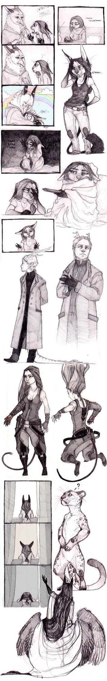 SketchStuff 7 by REYKAT