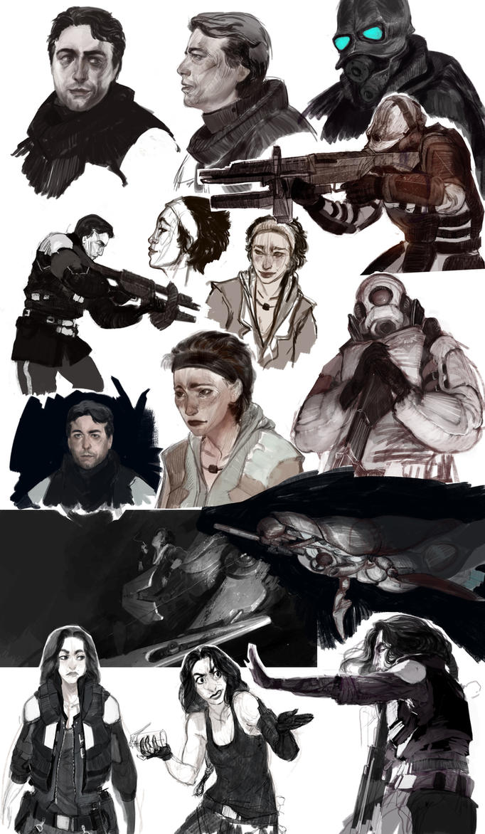 sketch HL2 by REYKAT