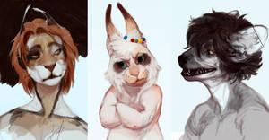 sketchheadshots10 by REYKAT