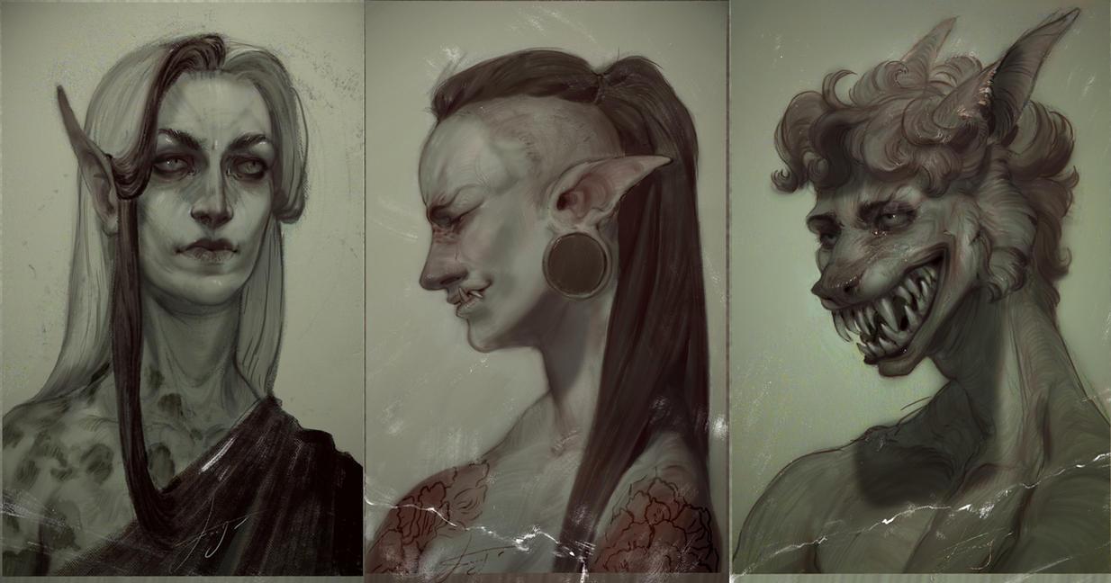 sketchheadshots27 by REYKAT