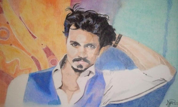 Johnny Depp by Joker64