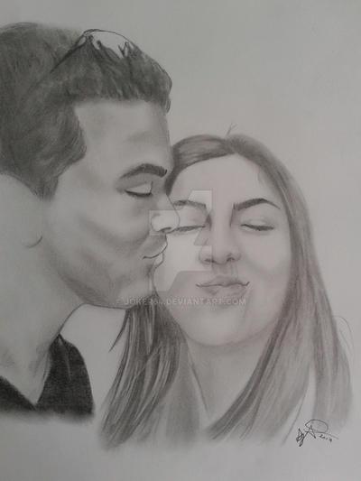 Couple in love by Joker64