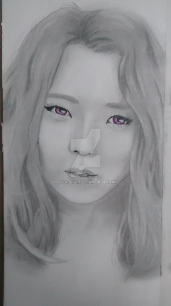 work in progress 4/4 Hyo Eun by Joker64