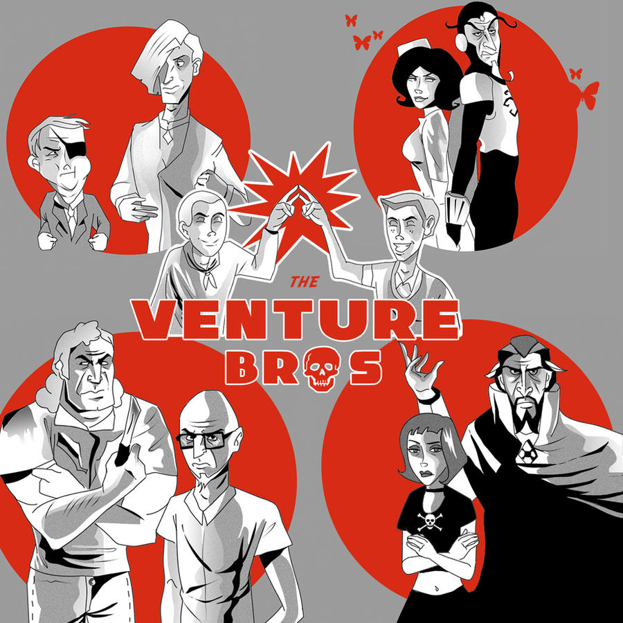 Venture Bros. Group A by dr-runcible