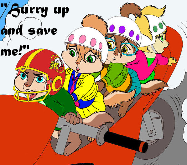 Hurry up and save me! by JeanetteChipette13 on DeviantArt
